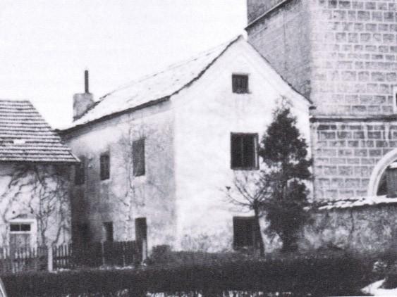 Bild vom Schulhaus bis 1890