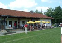 Sportheim des TSV von Aussen