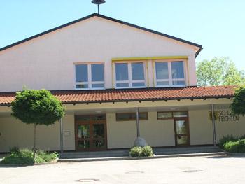 Bild der Schule ab 1967